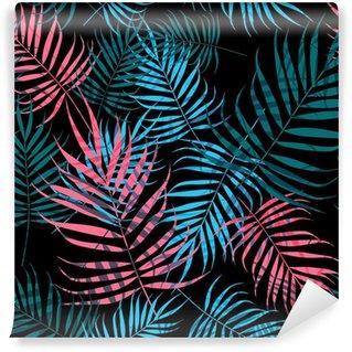Yıkanabilir Duvar Resmi Palmiye ağacı yaprakları