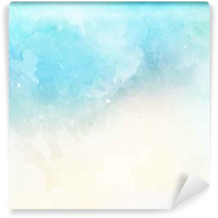 Zelfklevend Fotobehang Waterverftextuur achtergrond