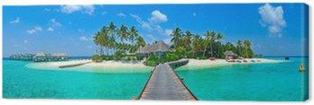 Panorama wyspy Malediwy