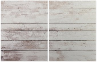 Białe deski drewniane z tekstury jako tła