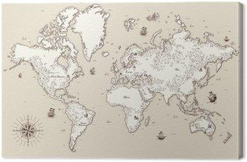 Obraz na Plátně Cestování