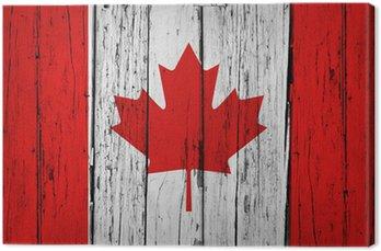Kanada Flaga Grunge