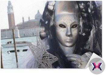 Karnawał w Wenecji Maska stwarzających na placu San Marco