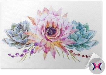 Akwarela lotus