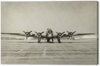 Stare, widok z przodu bomber