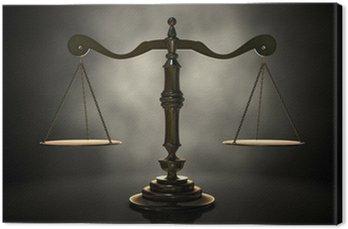 Obraz na Plátně Spravedlnost