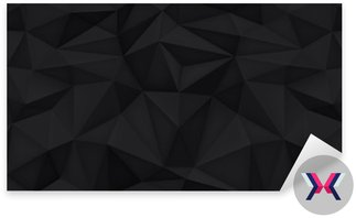 Niska wielokąta kształtów tła, trójkąty mozaiki, wektor projekt, kreatywne tło, szablony projektów, czarne tło