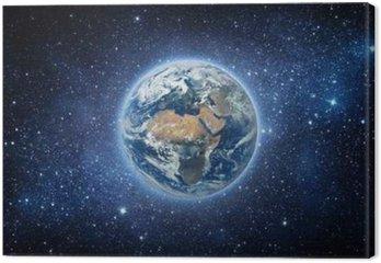 Ziemia i Galaxy. Elementy tego zdjęcia dostarczone przez NASA.