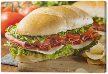 Swojski włoski Sub Sandwich
