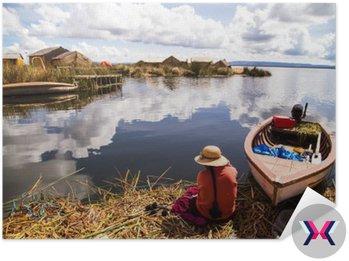 Wyspy Uros na jeziorze Titicaca, Peru__