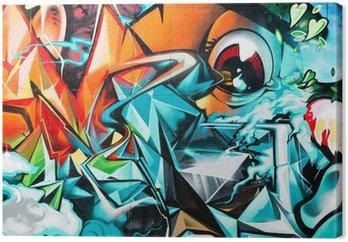 Abstract graffiti, szczegóły na ścianie teksturowane
