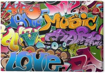 Graffiti bezszwowe tło. hip-hop sztuki