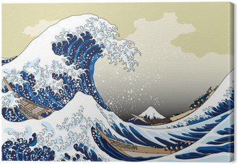 富 嶽 三 十六 景 神奈川 沖浪