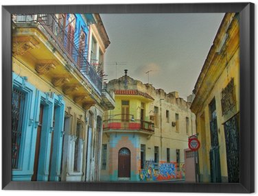 Colorful Havana buildings