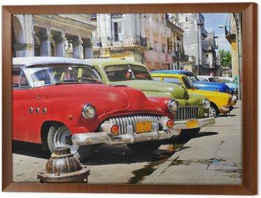Kolorowe samochody Hawana