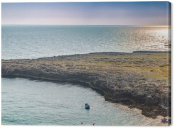 Puglia, Italy, the coast