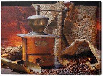 Antique młynek do kawy