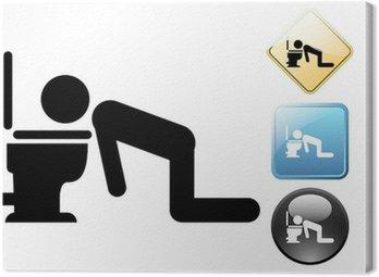 Pijany piktogram i ikony