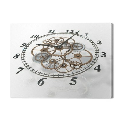 Obraz 3d zegar