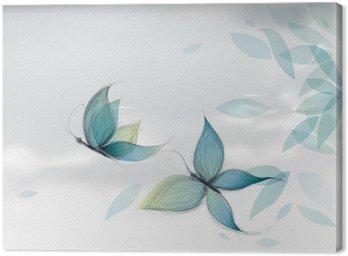 Azure Motyle na niebie / szkic Vector