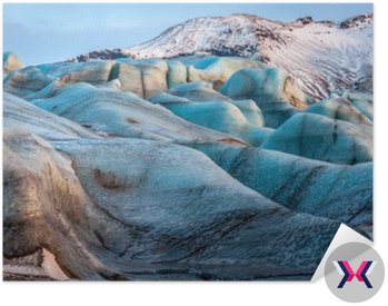 Lodowiec Vatnajokull, Islandia, część Park Narodowy Vatnajökull. Panorama