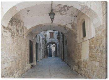 Alleyway. Bisceglie. Apulia.