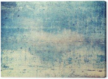 Pionowo zorientowane w kolorze niebieskim tle grunge