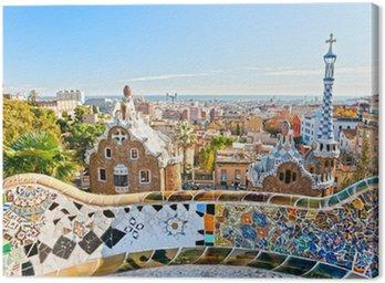 Park Guell w Barcelonie, Hiszpania.