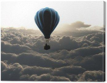 air balloon on sky