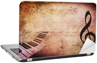 Retro musical tekstury