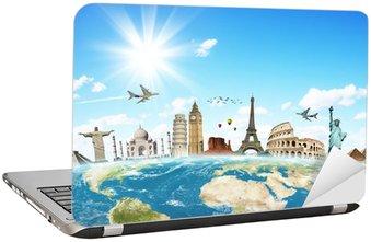 Podróżować koncepcję zabytki świata
