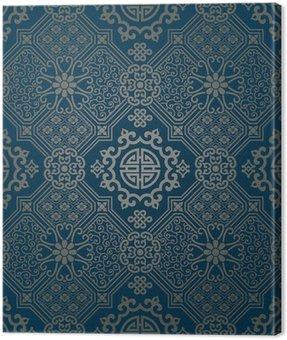 Tapety w stylu orientalnym, wzorek powtarzalne