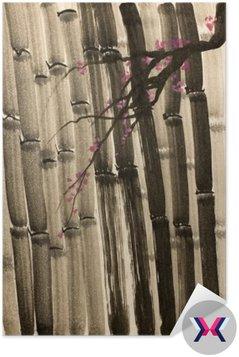 Gęsty las bambusowy
