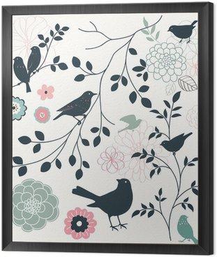 Ptak i kwiat