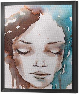 Zima, zimno portret