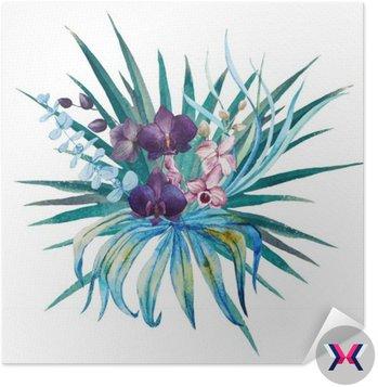 Tropical kompozycji kwiatowych