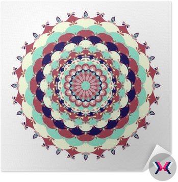 Mandala. Zabytkowe elementy dekoracyjne.