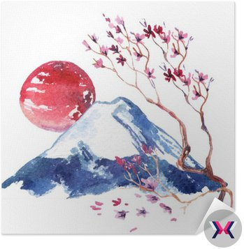 Japonia kwitnaca wisnia