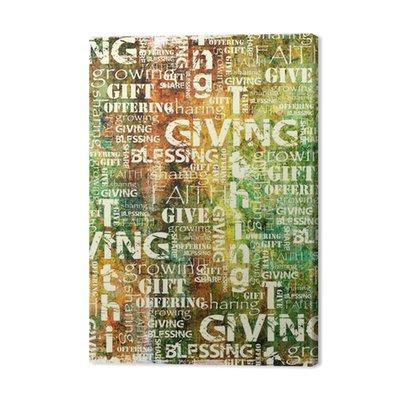 Dawanie i Dziesięcina Tło