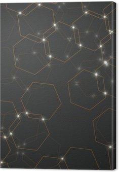 Abstrakcyjne tło komórek sześciokątnych, geometryczne projektowania ilustracji wektorowych eps 10