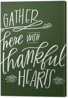 Gather Here with Thankful Hearts