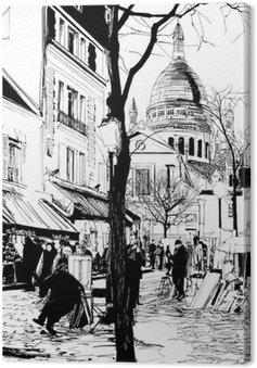Montmartre in winter