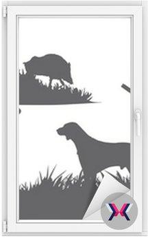 Motyw polowania zwierząt i krajobrazów