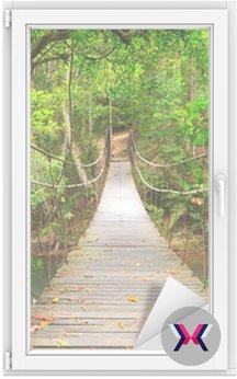 Most do dżungli, park narodowy Khao Yai, Tajlandia
