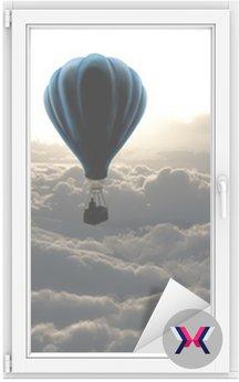 Balon na niebie