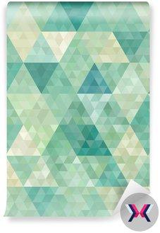 Bezszwowe tło z abstrakcyjnym ornamentem geometrycznym