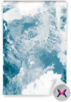 Niebieski tekstury marmuru