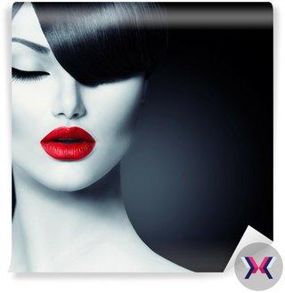 Moda Glamour Beauty Girl Trendy Fringe Fryzura