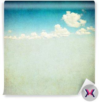 Retro obraz pochmurne niebo