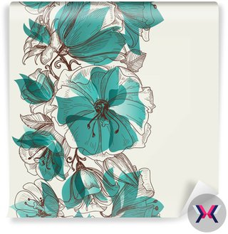 Kwiat powtarzalne wektor wzór